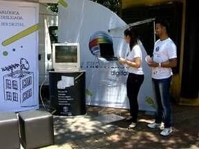 Estação Digital orienta telespectadores sobre sinal digital de TV - Estrutura percorrerá cidades da região de Presidente Prudente.
