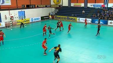 Londrina tenta chegar à final da Liga Nacional de Handebol - O time joga nesta quinta-feira contra o Taubaté, atual campeão brasileiro e um dos favoritos ao título.