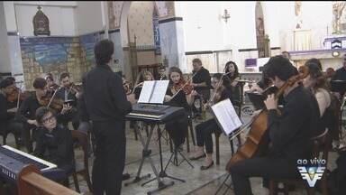 Orquestra Jovem se apresenta em Santos - Espetáculo ocorre na Igreja da Pompeia.