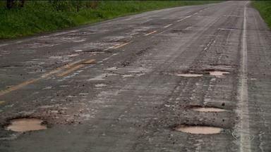 Chuva causa estragos em estradas e rodovias no Norte do ES - De acordo com o DER, já foi publicado o editaL para as obras de recuperação da ES-248.