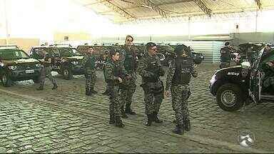 Batalhão Integrado Especializado de Policiamento completa um mês em Caruaru - No estúdio do ABTV, o coordenador de operações e estatísticas do batalhão fala sobre balanço.