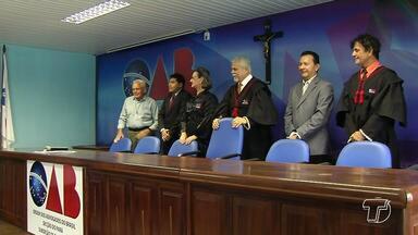OAB subseção Santarém homenageia o irmão Ronaldo Hein - O religioso, depois de quase 50 anos em Santarém e por 30 anos coordenando a Pastoral do Menor, desde a fundação vai deixar a região nos próximos dias.