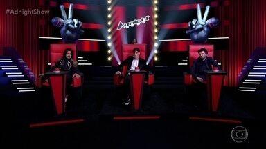 Adnet seleciona convidados para o 'Adnight Show' - Confira para quem ele virou a cadeira