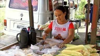 NE Rural visita a feira do Bairro de Fátima, que ocorre às quartas - Confira mais notícias em G1.Globo.com/CE.