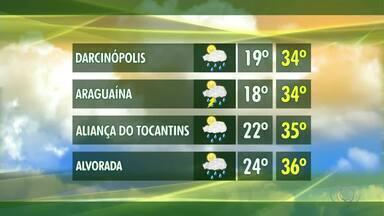 Veja como fica a previsão do tempo em cidades do interior do Tocantins - Veja como fica a previsão do tempo em cidades do interior do Tocantins