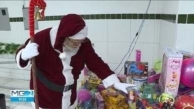 Queda de doações ameaça festa de natal de famílias carentes - Volume de doações recebido por voluntários está menor neste ano em Belo Horizonte.