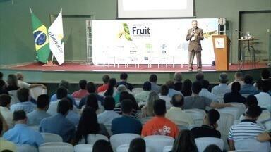 Evento que debate a fruticultura no Norte de Minas é realizado em Janaúba - Cerca de 400 pessoas participaram do evento.