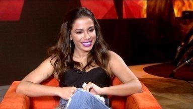 Anitta revela planos para conquistar o mundo e se apresenta no Fantástico - 2017 foi o ano da cantora, que recebeu prêmios, emplacou músicas nas paradas e multiplicou seus seguidores nas redes sociais. Veja entrevista.