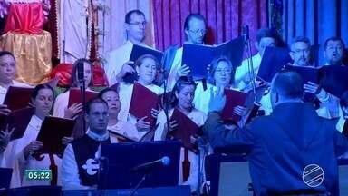 Cantata do Arautos do Evangelho, em Campo Grande, emociona quem assiste - O espetáculo vai além de uma apresentação. É um experiência de fé para quem assiste.