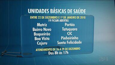 91 postos de saúde de Curitiba vão fechar no fim do ano - Dos 110 apenas 19 vão funcionar dos dias 22 de dezembro a 1º de janeiro