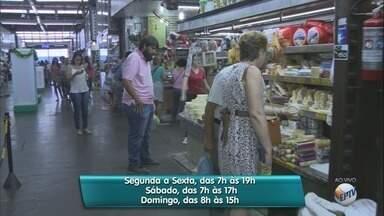 Mercado Municipal de Ribeirão Preto estende horário de funcionamento - Devido às festas de fim de ano, estabelecimento passa a abrir das 7h às 19h.