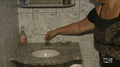 Moradores reclamam da falta de água em bairro de São Luís - Moradores do bairro Apeadouro reclamam da constante falta de água em toda a área.