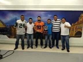 ARENA GE #24: Campeão da Série B e final do AM de futebol americano são destaques - Apresentação é de Silvio Lima e Marcos Dantas, com direção de Gabriel Mansur.