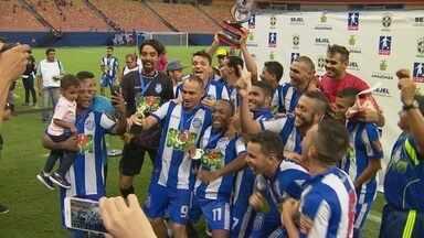Vídeo: São Raimundo empata com CDC e é campeão da Série B - Partida ocorreu no sábado, na Arena da Amazônia, em Manaus.