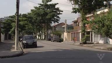 Moradores do Marapé, em Santos, reclamam da falta de segurança no bairro - Número de assaltos vem aumentando nos últimos anos.
