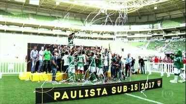 Cinco finais e três títulos. Categorias de base do Palmeiras brilharam em 2017 - Cinco finais e três títulos. Categorias de base do Palmeiras brilharam em 2017