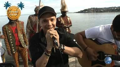 Netinho fala sobre a volta à rotina de shows e apresenta música nova - O cantor baiano é o convidado do JM desta quinta (21).