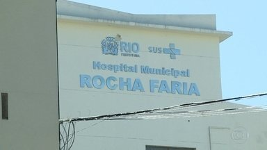 Nem no natal, pacientes foram atendidos como deveriam no hospital Rocha Faria - Faltam remédios e medicamentos.