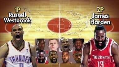 Estrelas são decisivas na rodada de natal da NBA - Estrelas são decisivas na rodada de natal da NBA