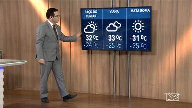 Previsão do tempo para o Maranhão para esta terça-feira (26) - Previsão do tempo para o Maranhão para esta terça-feira (26), com informações do JMTV 1ª edição.
