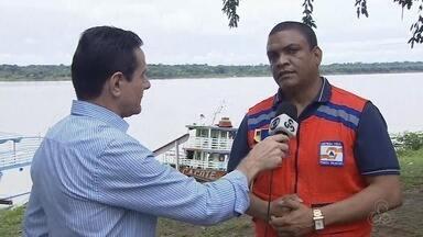 Defesa Civil alerta sobre nível do Rio Madeira - Defesa Civil alerta sobre nível do Rio Madeira.