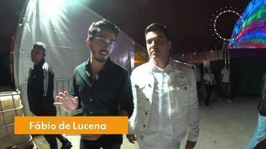 Wesley Safadão fala com o Gshow antes de Show da Virada - O cantor conta que falta tempo para descansar