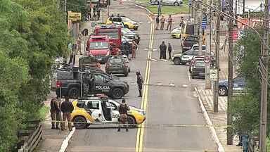 Termina rebelião na cadeia de Castro - Foram mais de 20 horas de motim