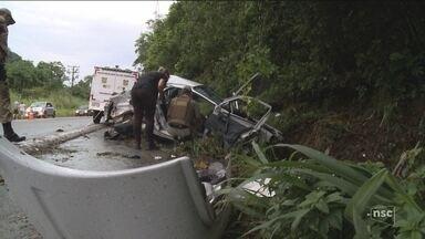 Feriado de Natal registra 19 mortes nas estradas de SC - Feriado de Natal registra 19 mortes nas estradas de SC
