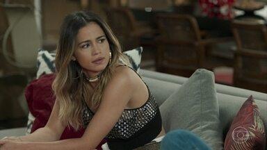 Sandra Helena questiona envolvimento de Aníbal com a morte de Mirella - A filha de Dulcina estranha a intimação do padrasto para depor no caso do acidente que matou a primeira mulher de Eric