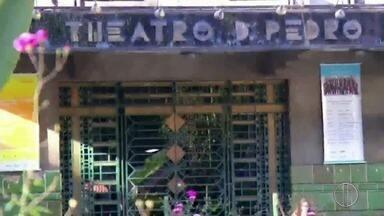 Teatro Dom Pedro, em Petrópolis, RJ, é fechado para reformas - Previsão para reabertura é para o 2º semestre de 2018, segundo a Prefeitura.