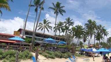 Quase 100% dos hotéis e pousadas de Pernambuco estão ocupados para o Réveillon - Fernando de Noronha, Olinda, Porto de Galinhas e o Recife são os destinos preferidos pelos turistas que desembarcam no estado.