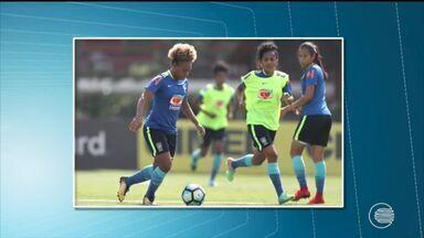 Atacante do Tiradentes é convocada para a seleção brasileira - Atacante do Tiradentes é convocada para a seleção brasileira