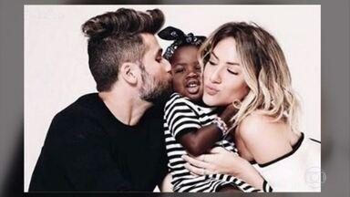 2017 foi o ano marcado pela diversidade e pelo combate ao preconceito - Ana Maria e Bruno Astuto parabenizam Bruno Gagliasso e Giovanna Ewbank por levarem para a justiça o caso de racismo sofrido pela filha, Titi
