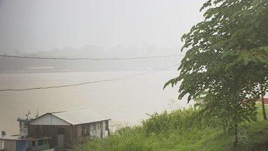 Defesa Civil de Porto Velho elabora mapeamento de áreas de risco próximas ao rio Madeira - O serviço antecede a remoção das famílias que vivem em áreas de risco