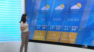 Confira a previsão do tempo desta quarta-feira (27) - Saiba como fica o tempo no estado.