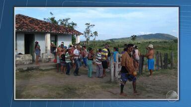 Índios ocupam fazenda que pertence à família de Geddel Vieira Lima - O caso aconteceu na zona rural de Itapetinga, no sudoeste do estado. Os indígenas reivindicam a demarcação da terra considerada sagrada.