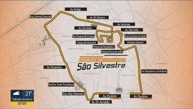 Corredores se preparam para encarar os 15 km da São Silvestre em SP - Globo transmite tradicional corrida de rua na manhã de domingo (31)