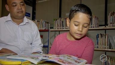 Biblioteca pública em Campo Grande oferece ofina de leitura - A oficina de leitura na biblioteca pública é uma ótima opção para a garotada que está de férias. Viajar pelas páginas dos livros é sempre prazeroso!