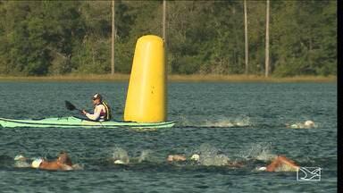 Lagoa do Cassó é destaque de esporte aquático em Primeira Cruz - Evento que começou local teve neste ano a participação de uma medalhista olímpica.