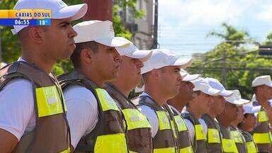 Quase 500 alunos da Escola da Brigada Militar vão ajudar na patrulhamento no RS - Assista ao vídeo.