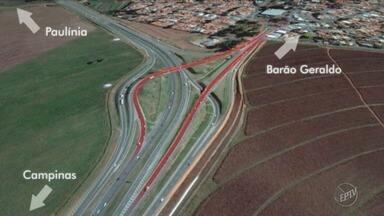 Rodovia Zeferino Vaz fica interditada para obras de reparo das vias - Concertos começam nesta quinta-feira (4) na pista que dá acesso ao distrito de Barão Geraldo em Campinas (SP).