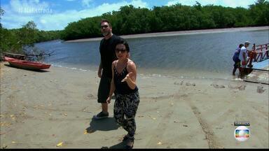 Mais Você no litoral Norte da Paraíba - A equipe do quadro Na Estrada visitou áreas de preservação, mostrou a culinária local e o trabalho das marisqueiras.