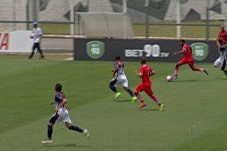União empata nos últimos minutos contra Trindade na Copinha - Goleiro Gabriel do União se destaca na partida.