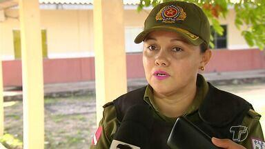 Oficial que comandará o 35º BPM é apresentada ao CPR-1 em Santarém - Tenente Coronel Cíntia Raquel se apresentou na quarta-feira (3), agora os procedimentos serão para a reforma do prédio onde o batalhão funcionará.