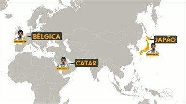 Depois de rodar pelo mundo, Júnior Dutra é apresentado no Corinthians - Depois de rodar pelo mundo, Júnior Dutra é apresentado no Corinthians