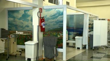Painéis coloridos mudam ambiente de UTI de hospital em Curitiba - O ambiente dos pacientes e familiares ficou mais leve e agradável.