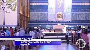 Santuário Nacional de Aparecida tem programação no fim de semana - Cristãos comemoram Dia de Reis neste sábado (6).