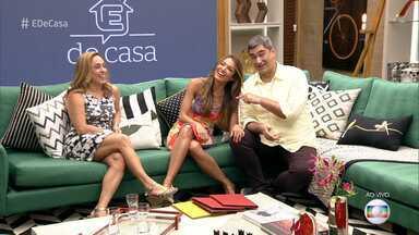 É de Casa - Programa de 06/01/2018, na íntegra - Cissa Guimarães, Patrícia Poeta e Zeca Camargo apresentam o primeiro programa do ano e recebem a visita de Toquinho, que anima a casa com música!