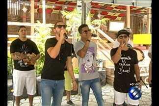 No É do Pará rolou o encontro da Banda Jamil e a galera do I Love Pagode - Eles irão agitar os blocos de carnaval que começam hoje na Cidade Velha.