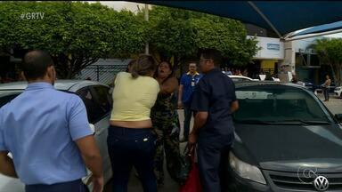 Mulheres são flagradas furtando um uma loja de Petrolina - Após serem descobertas, as mulheres agrediram um funcionário e uma cliente da loja.